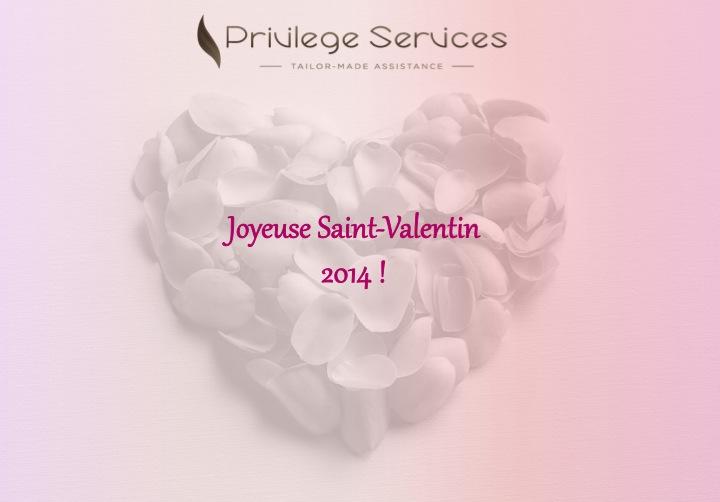 Idées cadeaux par un Assistant Privé pour votre Saint-Valentin 2014